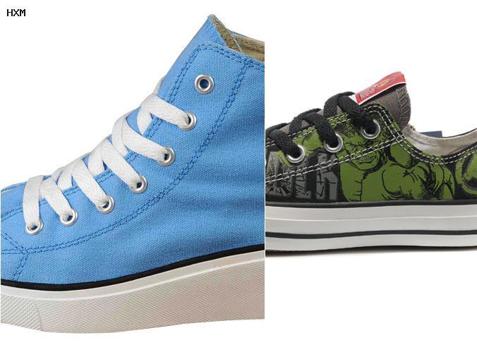 caracteristicas de los zapatos converse originales