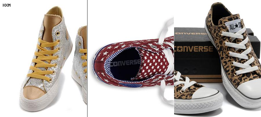converse nylon trainer remix