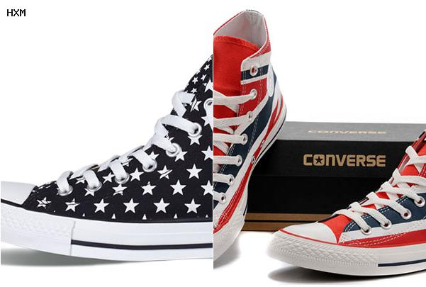 converse studded flag