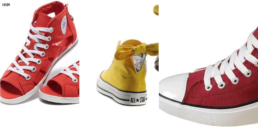 zapatillas botitas converse all star