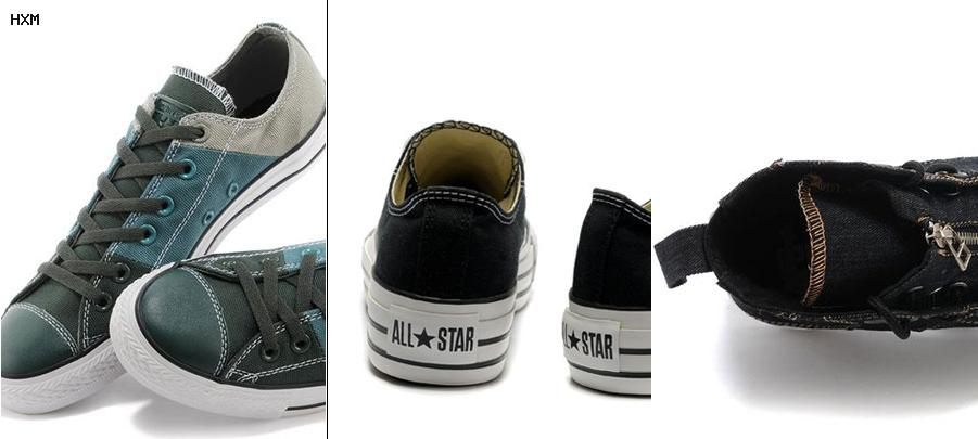 zapatillas converse all star bajas