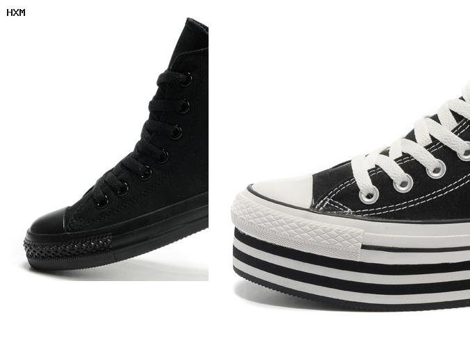 zapatillas converse botitas con abrojo