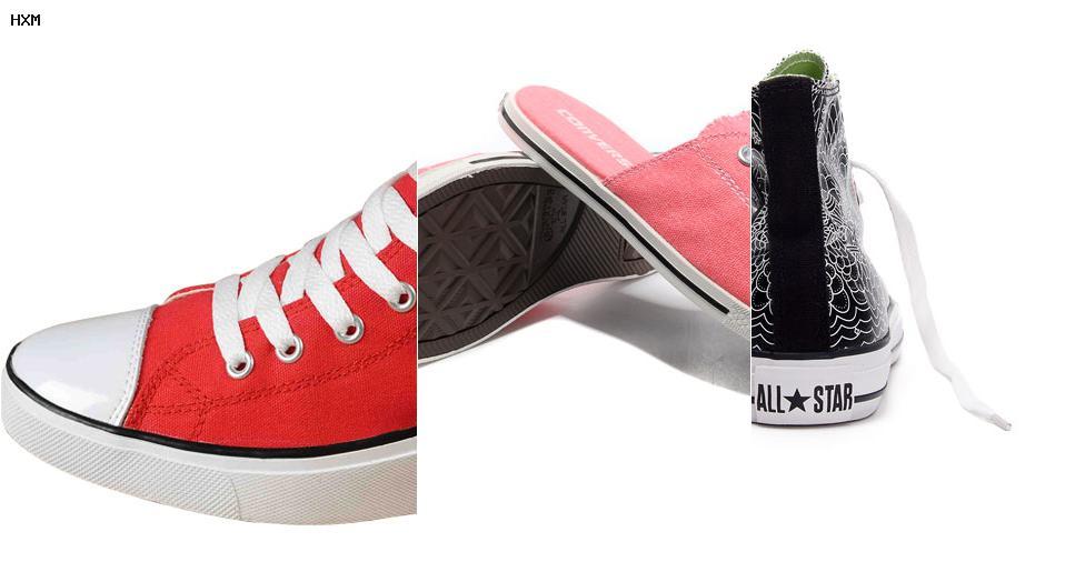 zapatillas converse de cuero