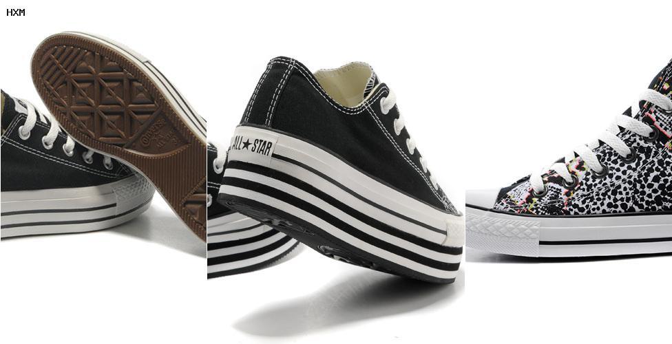 zapato converse en foami