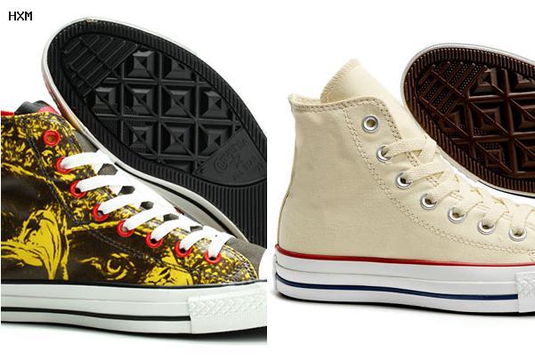 zapatos converse amarillos