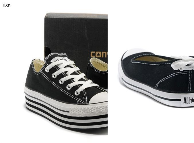 zapatos converse de cuero