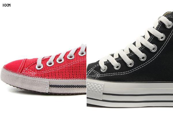 zapatos converse tejidos